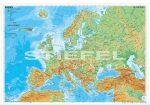 Europe physical (angol Európa domborzati térkép)