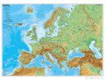 Europa phisisch (német)