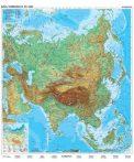 Ázsia domborzata + politikai térképe DUO