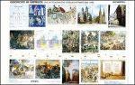 A középkori társadalom (500-1400) képestabló (német képaláírások)