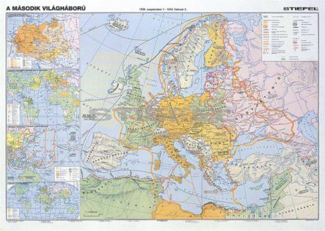 A II. világháború (hátoldalán: 2. szakasz) DUO