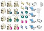 WAN-internet applikációs készlet a falitablóhoz
