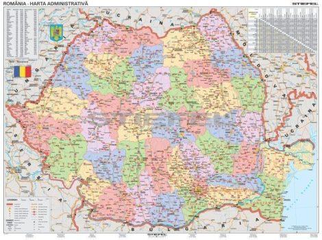 Románia közigazgatása (román)