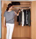 Zárható ruhatári szekrény
