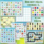 Bee-Bot 8 darabos gyakorlópálya  csomag