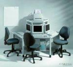 Trapéz alakú asztal, felső kisasztal nélkül (240 x 120 cm)