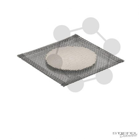 Drótháló kerámiabetéttel, 120 x 120 mm