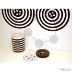 Interaktív atommodell, Bohr-féle (Szemléltető modell és Tanulói modellek fekete alátéttel)
