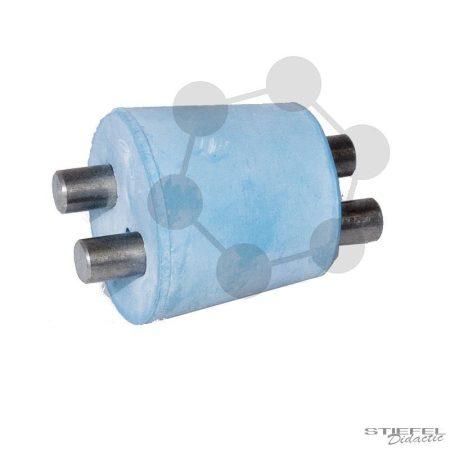 Szénelektród elektrolíziskamrához, 2 darab