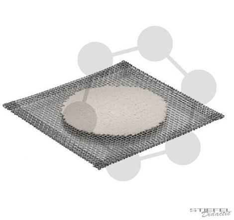 Drótháló kerámiabetéttel, 150 x 150 mm