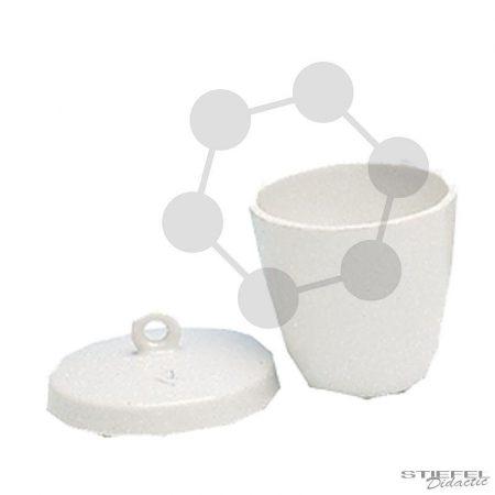 Izzító tégely, porcelán mázas