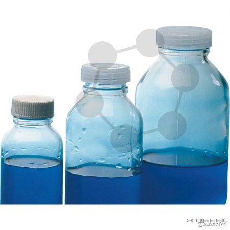 Menetes kupakkal záródó palack WH, AR-Üveg, 500 ml