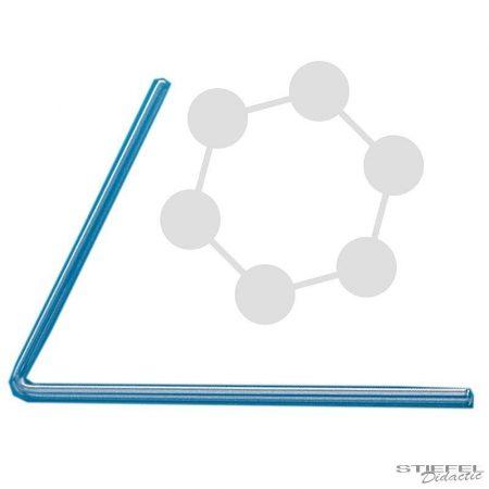 Üvegcső 1 szög, 200 x 200 mm