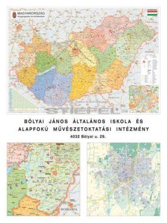 Helyünk a hazában (Magyarország, megye, járás, város)