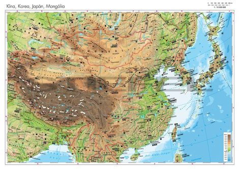 Kína, Korea, Japán, Mongólia domborzata