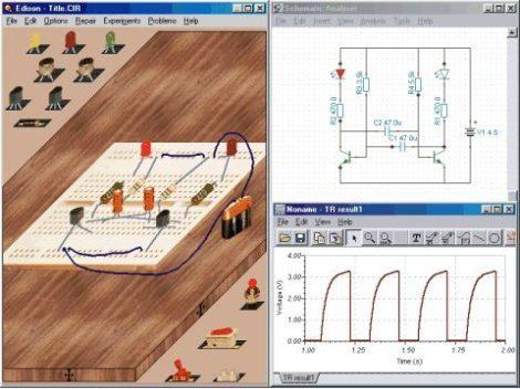 Edison 4 magyar nyelvű oktató szoftver