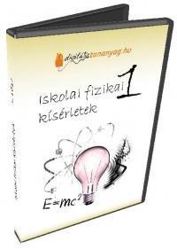 Iskolai fizikai kísérletek 1. (CD)