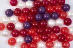 Játéklabda - Erdei gyümölcs (kevert szín, 75mm)
