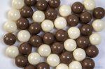 Játéklabda - Dupla csoki (kevert szín, 75mm)