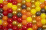 Játéklabda - Naplemente (kevert szín, 75mm)