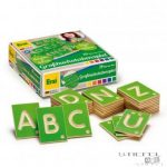 ABC kártyák (német nyelvű) - nagybetűk