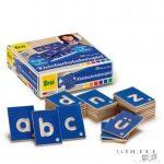 ABC kártyák (német nyelvű) - kisbetűk
