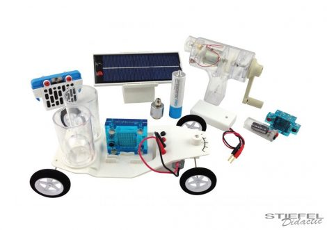 Elektromos közlekedés oktatócsomag (Science Kit)