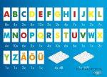Betűk és szavak tanulása építőkészlettel