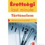 Érettségi – Last minute – Történelem