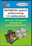 Matematika gyakorló 1-4. osztályosoknak, CD-ROM