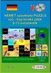 Német szóoktató puzzle, szó - kép kirakó CD-ROM