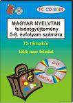 Magyar nyelvtan feladat gyűjtemény CD-ROM 5-8. osztály