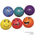 6 fejecskés labda, 6 érzelemmel -20 cm