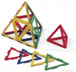Polydron háromszög készlet