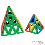 Mágneses Polydron háromszög készlet
