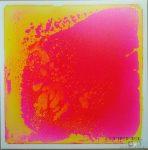 Folyadékkal töltött padlóelem - rózsaszín/sárga