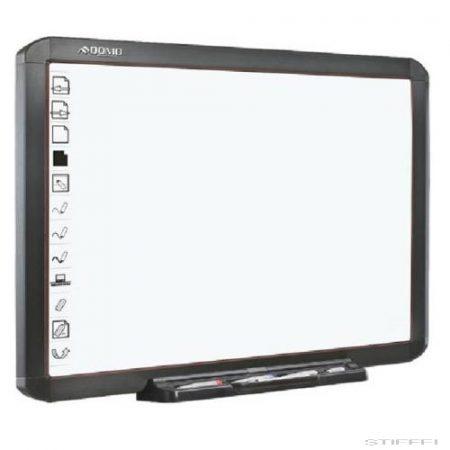 """QWB56-PS 56""""-as interaktív tábla, ultraközeli projektorral, guruló állványon"""