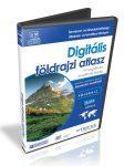 Digitális földrajzi atlasz CD 3 gépes licenc - akkreditált tananyag