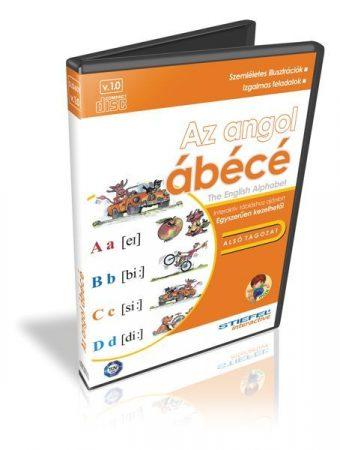 Az angol ábécé - oktató CD