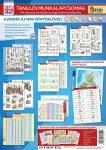 Angol nyelvi tanulói munkalapcsomag műa. tasakban ajándék The English Alphabet/Great-Britannia map A3 alátéttel és kék filctollal