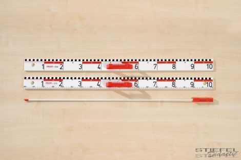 105 cm-es mutatópálca, üvegszálas anyagból